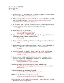 drivers ed chapter 5 skills and applications answers