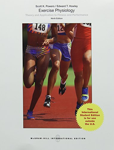 exercise physiology theory and application to fitness and performance sample