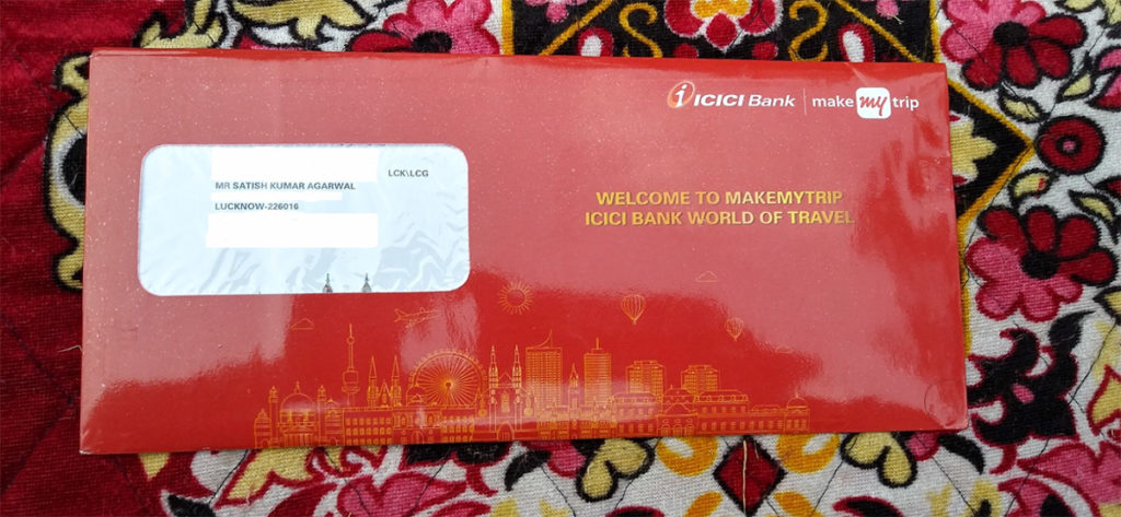 icici bank credit card application status with reference number