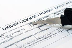 application for probationary driving licence
