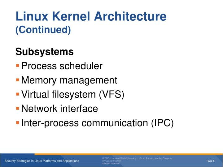 kernel security instead of application