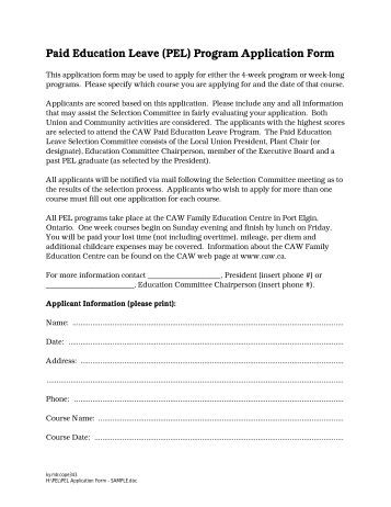 ed qld application for leave form