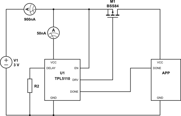 mosfet as a switch application