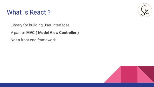 how to use mvc in react application