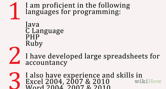 steps in writing an application letter