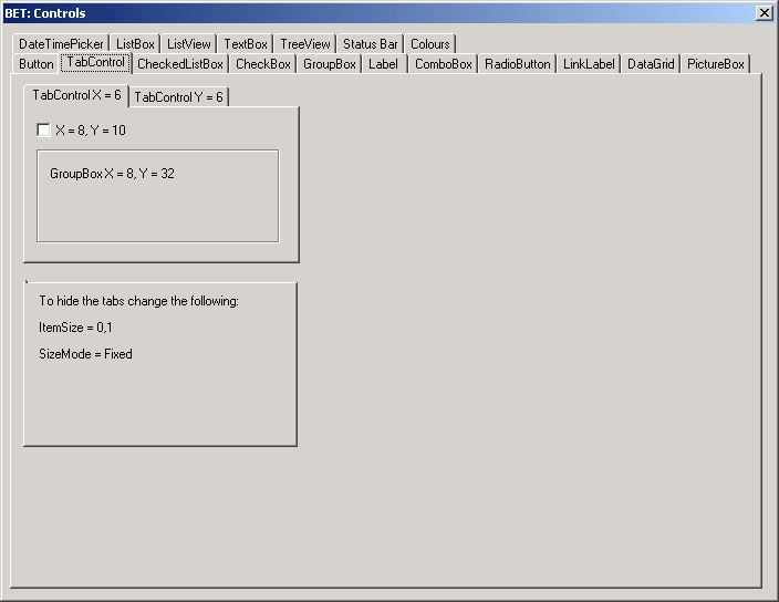 tab control in c windows application example