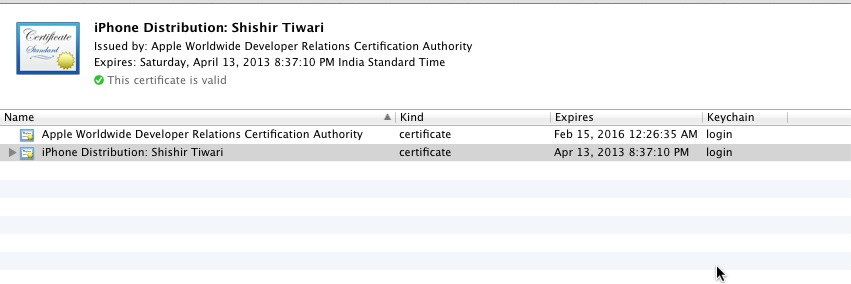 the application was signed with invalid entitlements